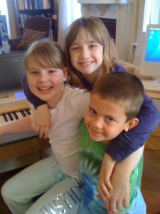 photo of a piano lesson in central denver